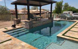 Desert Series Laguna with shaded patio
