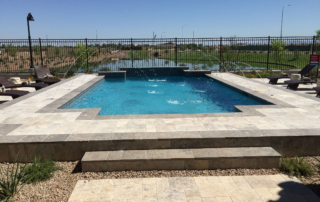Finest Finish Arctic Coast Pool with fountains