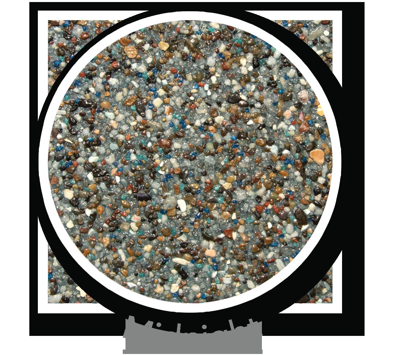 Round sample of Finest Finish Midnight