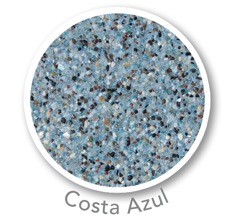 Universal Mini Pebble Costa Azul Sample