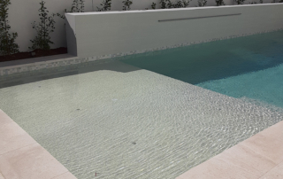 Finest Finish pool withe Desert Series White finish
