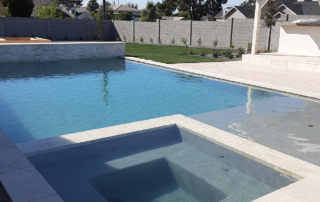 Swimming pool with FIniest Finish Desert Series Grey