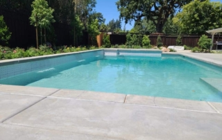 Finest Finish Radiant Fusion Pearl finish pool and yard