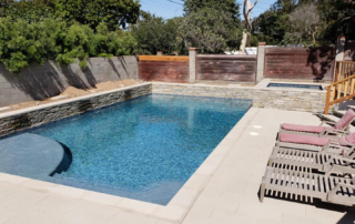 Finest Finish Radiant Fusion Indigo Crush Pool With Chairs
