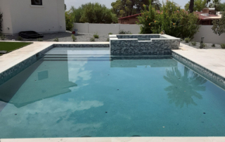 Finest Finish Costa Carribe Pool with spa