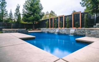 Finest Finish Micro Fusion Midnight Pool with water feature