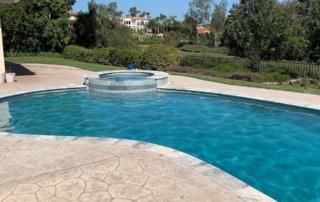 UMP Laguna Blue Pool with Spa