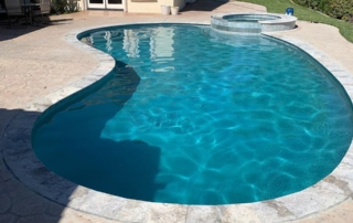 UMP Laguna Blue Pool with Spa2