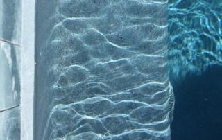 FInest Finish Arctic Coast Caribbean pool ledge